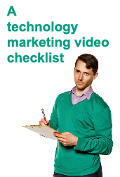 Click to download our 2-Minute Explainer video checklist. It's full of stuff you don't want to overlook as you produce a video.