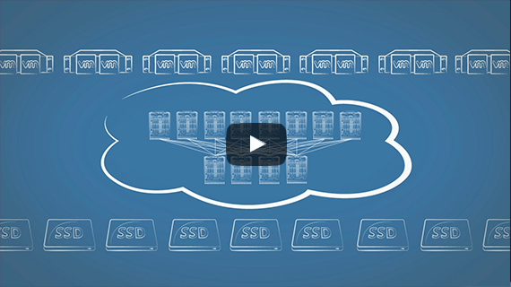 link to explainer video on storage solution that optimizes SAN for Flash storage